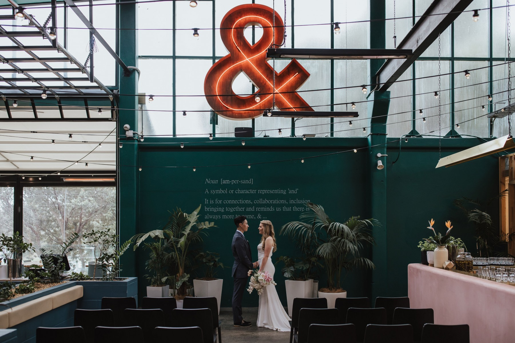 ampersand eatery, auckland, venue, wedding, weddings, function, space, event, nz