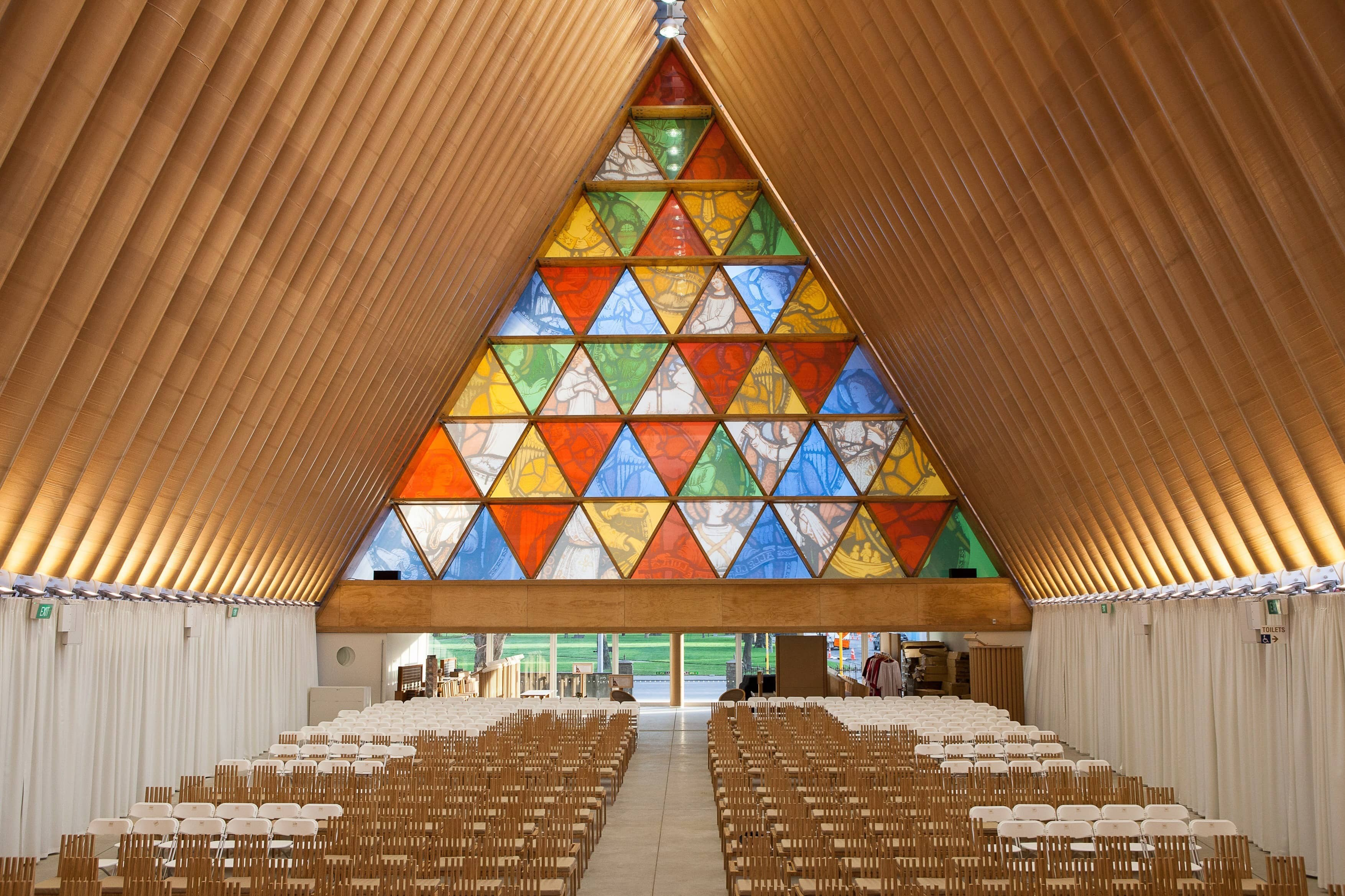 Christchurch Venue - Transitional/Cardboard Cathedral