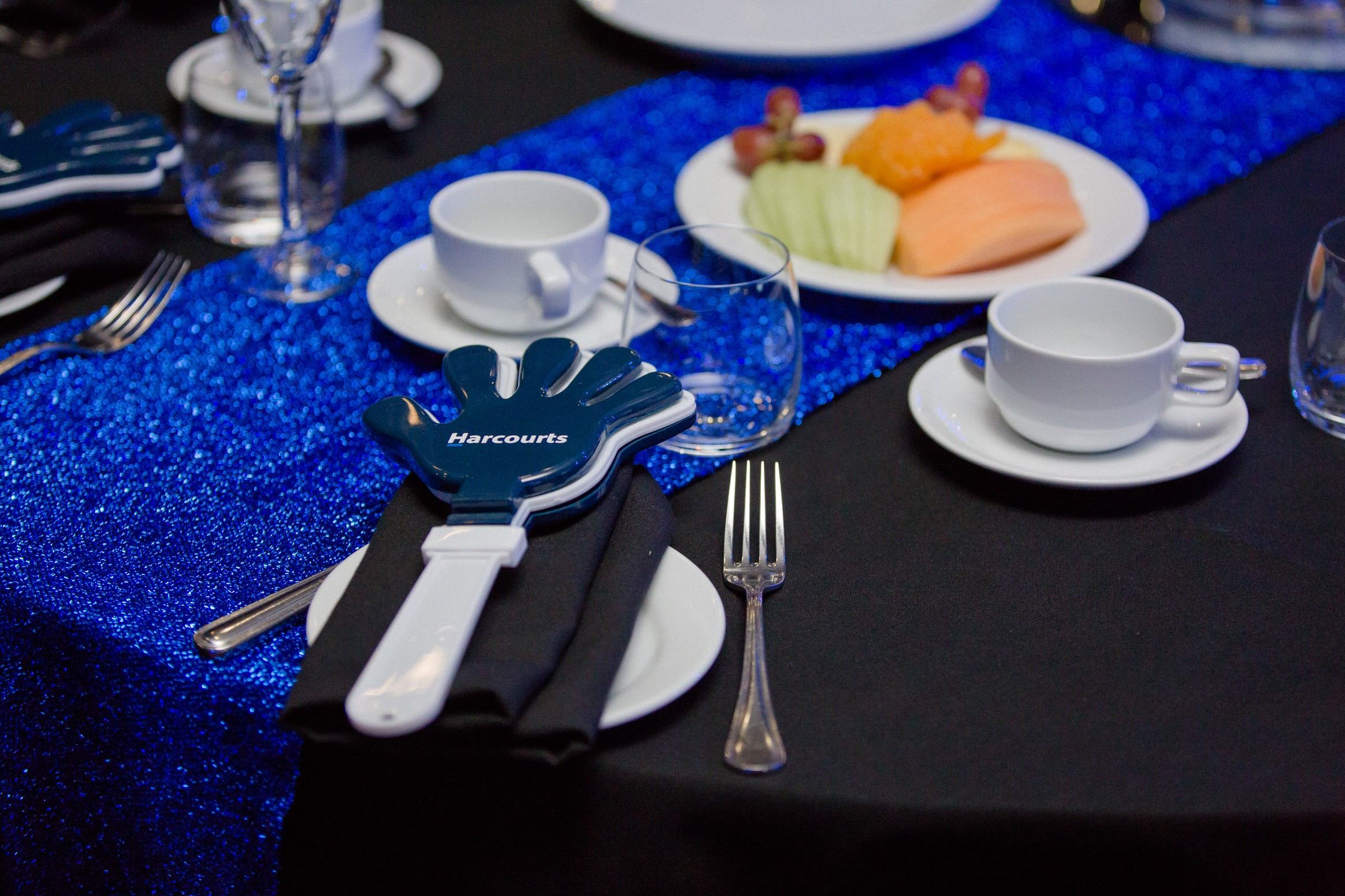 catering, clappers, table, toppers, corporate, event