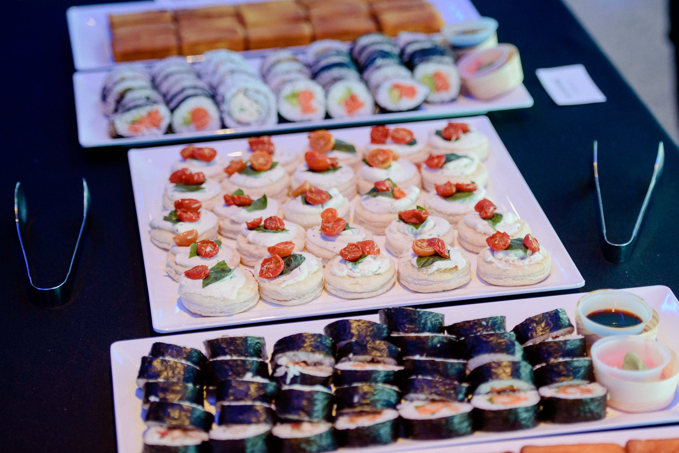 dessert, snack, catering, lunch, catered, conference, corporate, event, microsoft