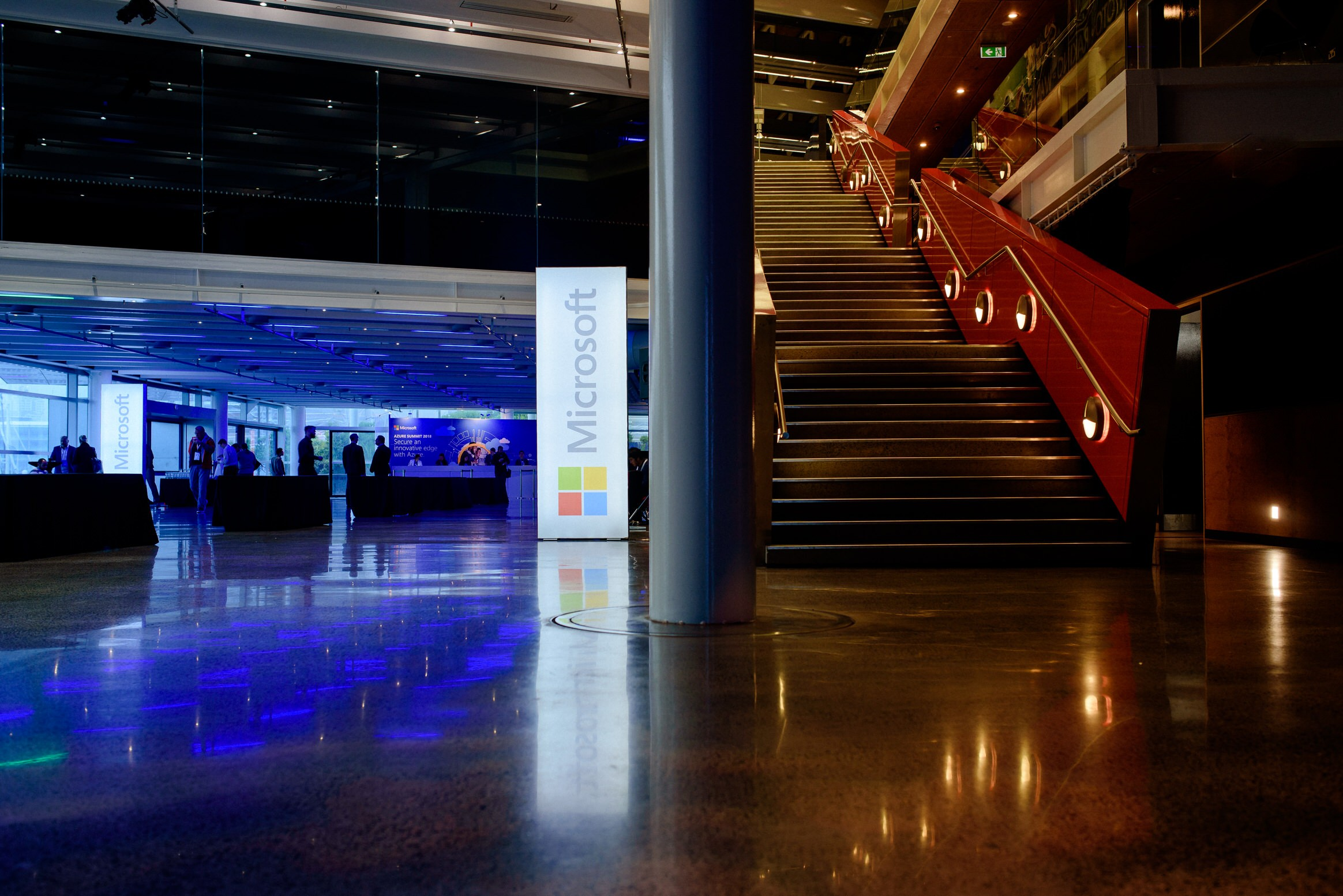 anz, viaduct, event, centre, corporate, event, microsoft, azure