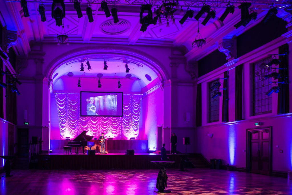 town, hall, auckland, event, corporate, gala, dinner, venue